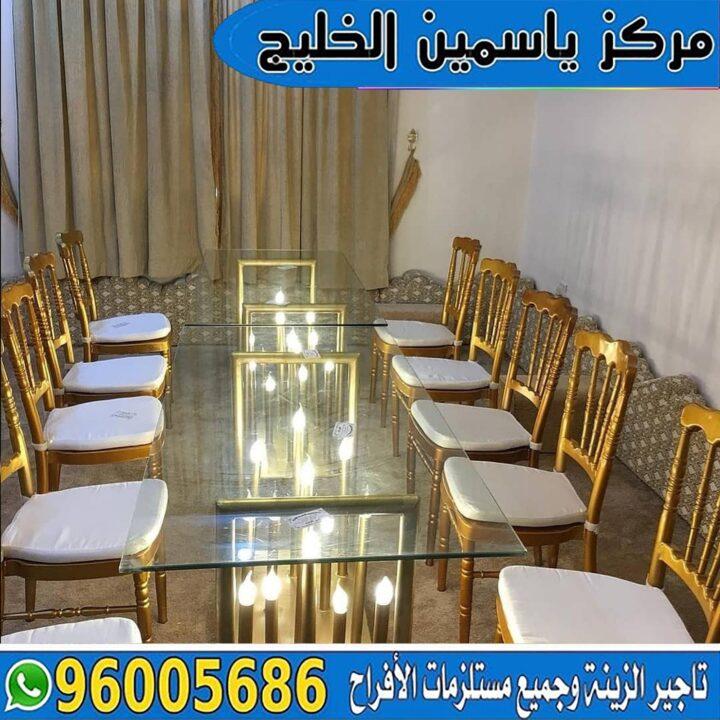 تأجير طاولات مضيئة الكويت